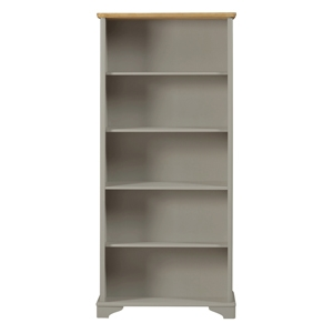 BD - Sussex - Assembled Oak Veneer & Grey Painted Downstairs Furniture Range