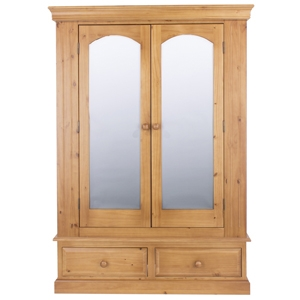 EB - Antique - Assembled Antique Effect Lacquered Pine Bedroom Range