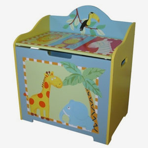 Toy Boxes, Bookshelves & Storage