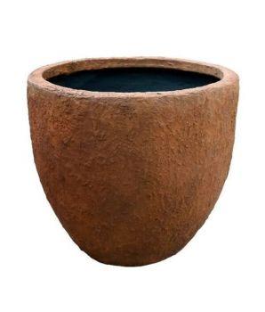 Apollo Tapered Pot Rust Wet Medium