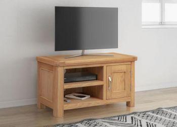 Bologna Oak Small TV Unit