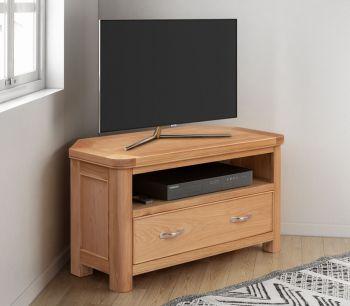 Bologna Oak Corner TV Unit