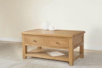 Shrewsbury Coffee Table with 2 drawers
