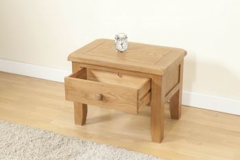 Shrewsbury Side Table with drawer