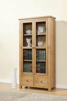 Shrewsbury Display Cabinet with Glass Doors