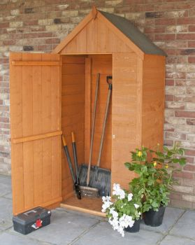 Tall Tool Store Garden Shed - Dip Treated Approx 3 x 2 Feet