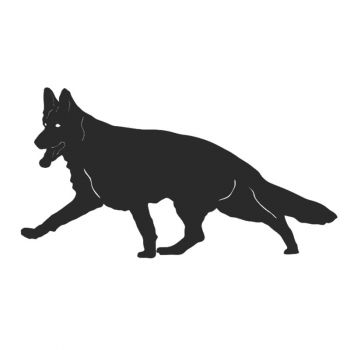 German Shepherd Dog Fence Topper