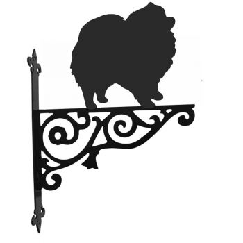 Pomeranian Ornamental Hanging Bracket