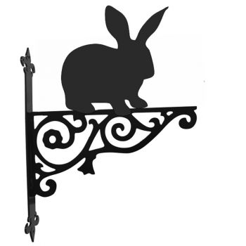 Rabbit Ornamental Hanging Bracket