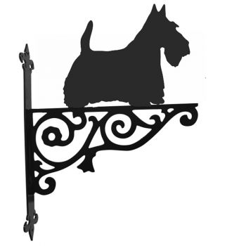 Scottish Terrier Ornamental Hanging Bracket
