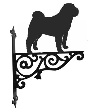 Shar Pei Ormanental Hanging Bracket