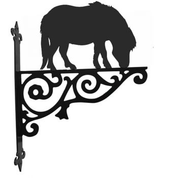 Shetland Pony Ornamental Hanging Bracket