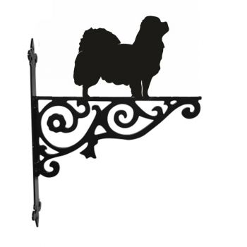 Tibetan Spaniel Ornamental Hanging Bracket