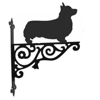 Welsh Corgi Ornamental Hanging Bracket