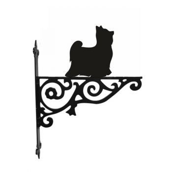 Yorkshire Terrier Ornamental Hanging Bracket