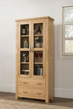 Sienna Large Display Cabinet