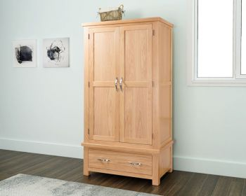 Sienna Double Wardrobe with Drawer