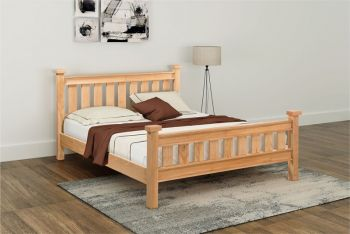 Sienna 4 ft 6in Panel Bed