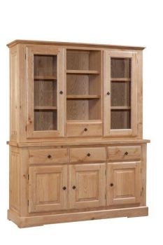 Rome Hutch for 3 Door 3 Drawer Sideboard