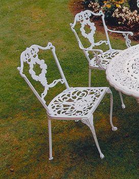 Grape Diner Chair British Made, High Quality Cast Aluminium Garden Furniture
