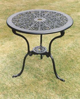 Coalbrookdale 68cm Table British Made, High Quality Cast Aluminium Garden Furniture