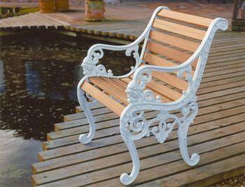 Sandringham Chair British Made, High Quality Cast Aluminium Garden Furniture