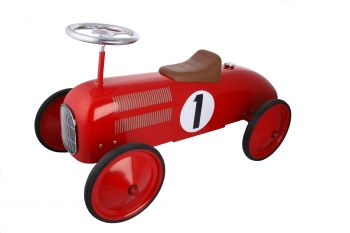 Classic Racer Ride On Car - Red