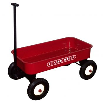 Red Classic Pull Cart