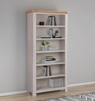 Bologna Painted Bookcase 900 x 1800