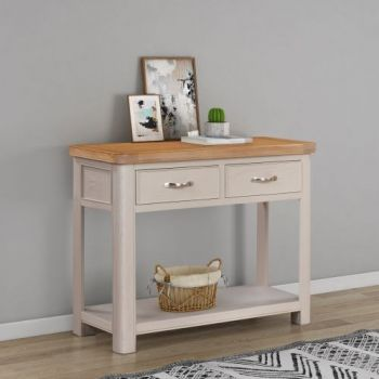 Bologna Painted Console Table with 2 Drawers