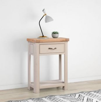 Bologna Painted Small Console with 1 Drawer