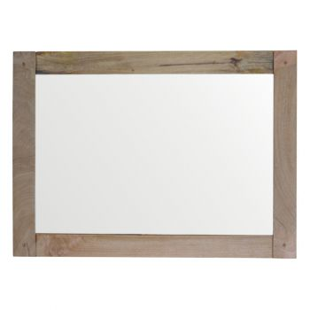 Wooden Frame with Mirror