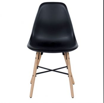 Aspen Plastic Pp Chair 6, Black