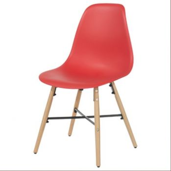 Aspen Plastic Pp Chair 6, Red