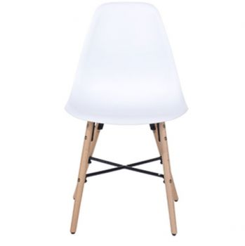 Aspen Plastic Pp Chair 6, White