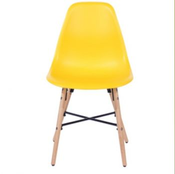 Aspen Plastic Pp Chair 6, Yellow