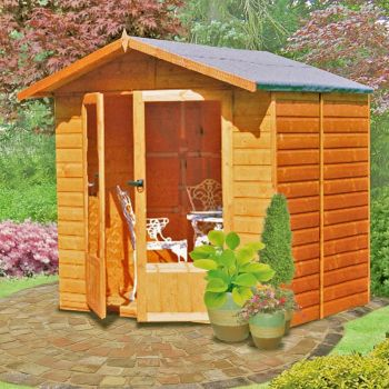 Avance Shiplap Summerhouse Garden Sun Room Approx 7 x 5 Feet