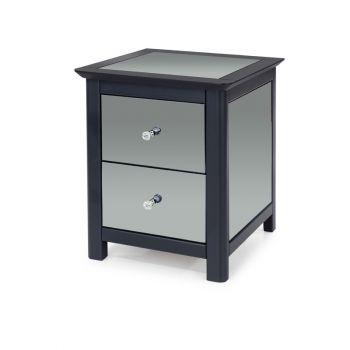 Ayr 2 Drawer Bedside Cabinet