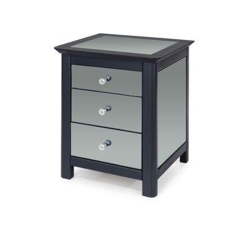 Ayr 3 Drawer Bedside Cabinet