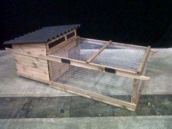 Bantam Poultry House and Run