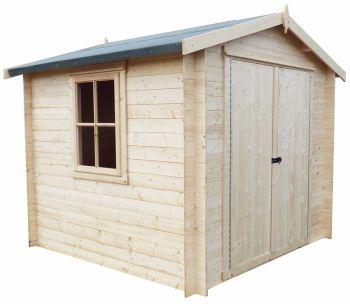 Bradley 19 mm Log Cabin 8' x 8'