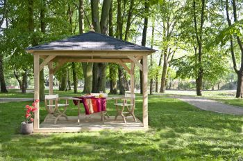 Cotswold Canopy with Floor (3.26 x 3.26m)