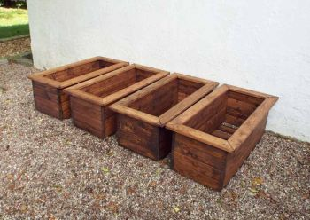 4pc Medium Trough Set - Fully Assembled