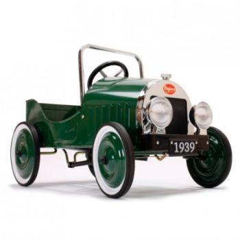 Classic Green Pedal Car