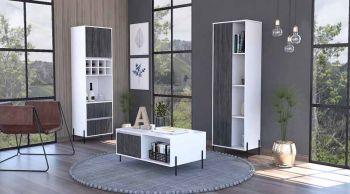 tall storage & display cabinet