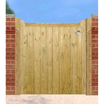 Drayton Low Wooden Single Gate 90cm Wide x 95cm High