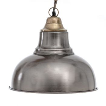 Industrial Retro Hanging Lamp Shade with Top, 33cm Dia.