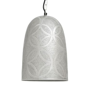 Ancient Marrakesh Hanging Lamp Belljar with Eng Drilling