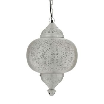 Ancient Marrakesh Hanging Lamp Matki with Mesh Etching