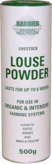 Barrier Louse Powder, 500g shaker